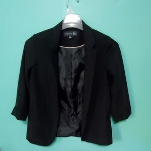 Forever 21 button less suit